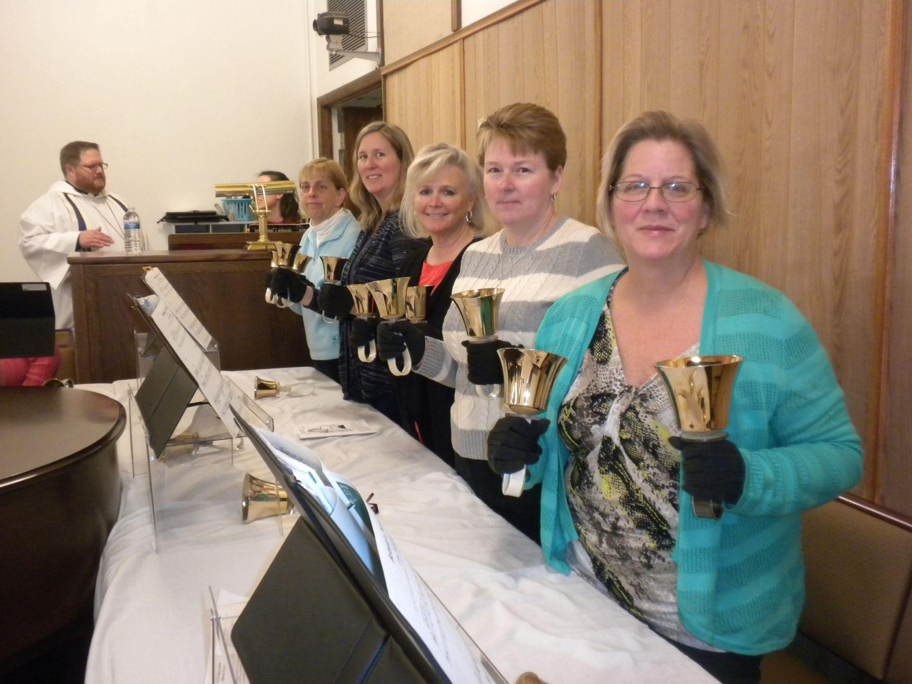 Members of our Bell Choir