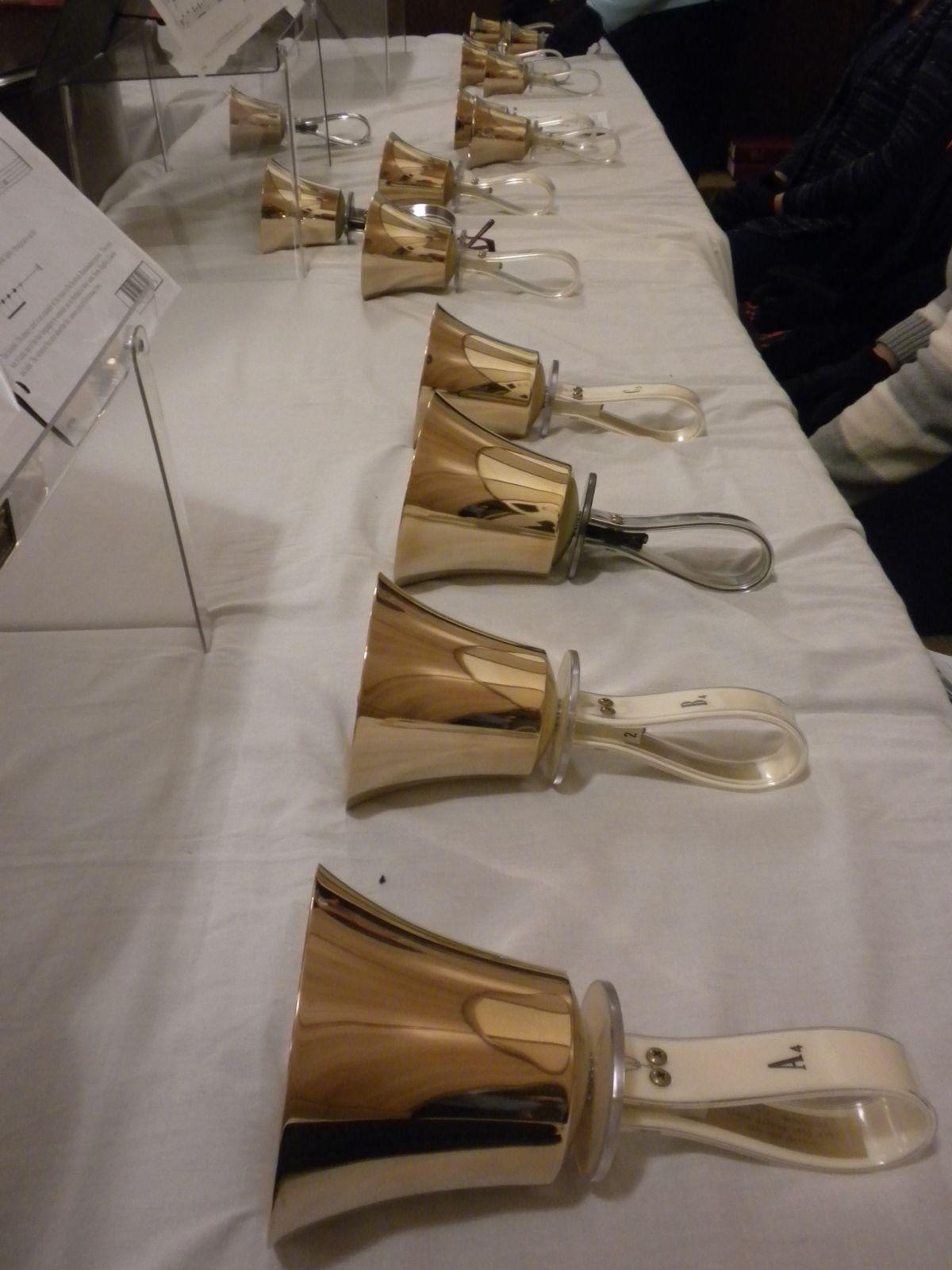 A few of our Malmark Hand Bells